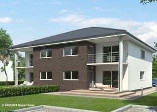 mehrfamilienhaus 384 w von hartl haus stadtvilla walmdach. Black Bedroom Furniture Sets. Home Design Ideas