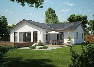 seeland winkelbungalow von danhaus bungalow satteldach. Black Bedroom Furniture Sets. Home Design Ideas