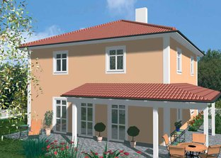 fertighaus bis 180 000 euro mit 96 00 qm und walmdach als. Black Bedroom Furniture Sets. Home Design Ideas